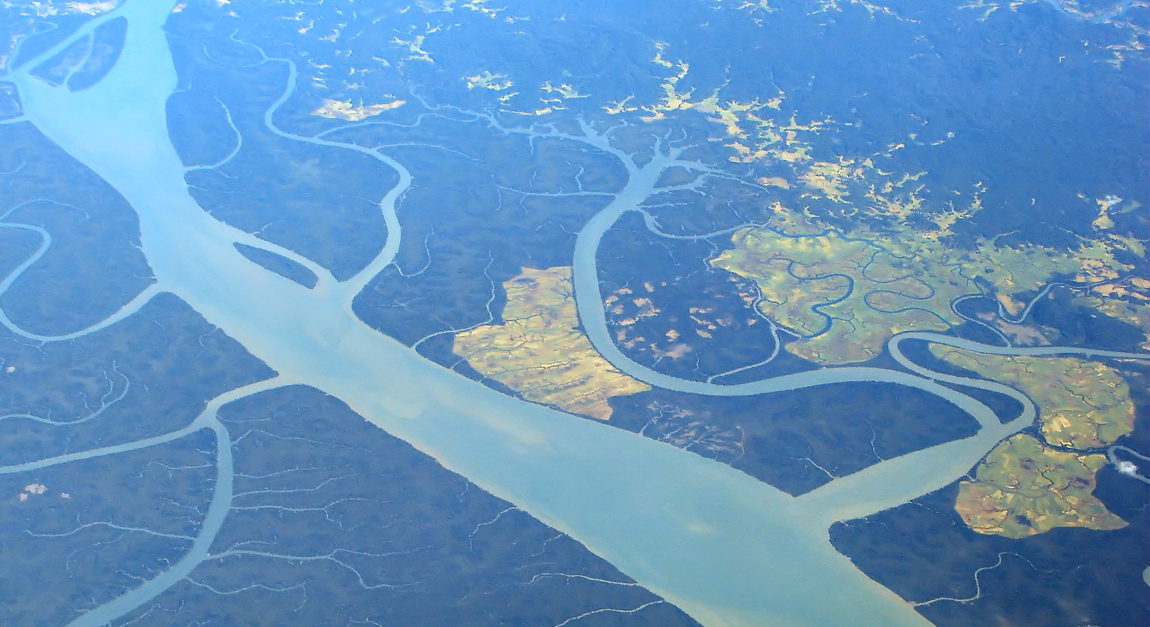 Irrawaddy River in Myanmar