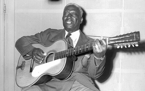 Blues and folk great Leadbelly