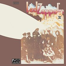 Led Zeppelin II (2) album cover