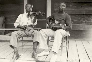 Muddy Waters and Son Sims