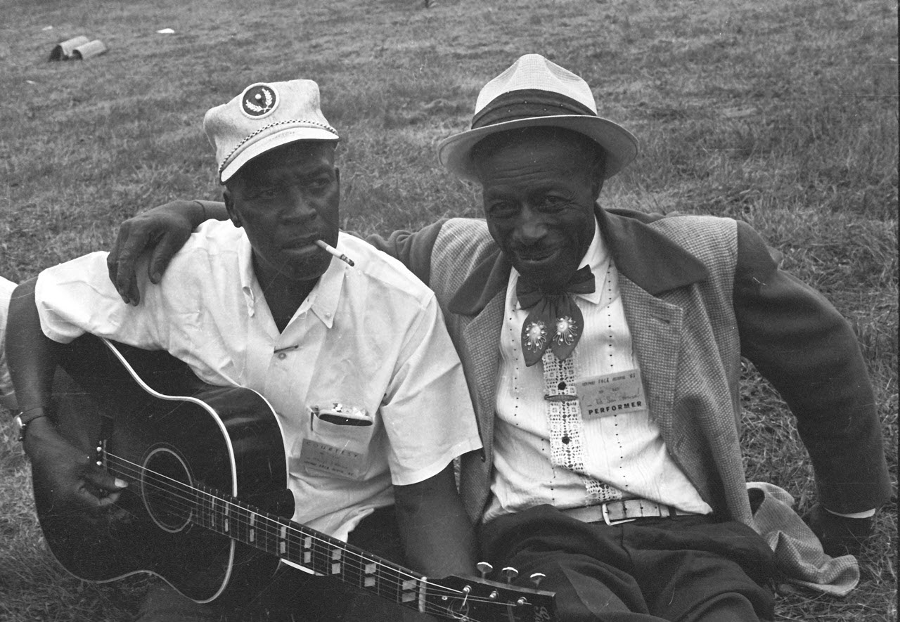 Delta Blues Musicians Howlin' Wolf and Son House