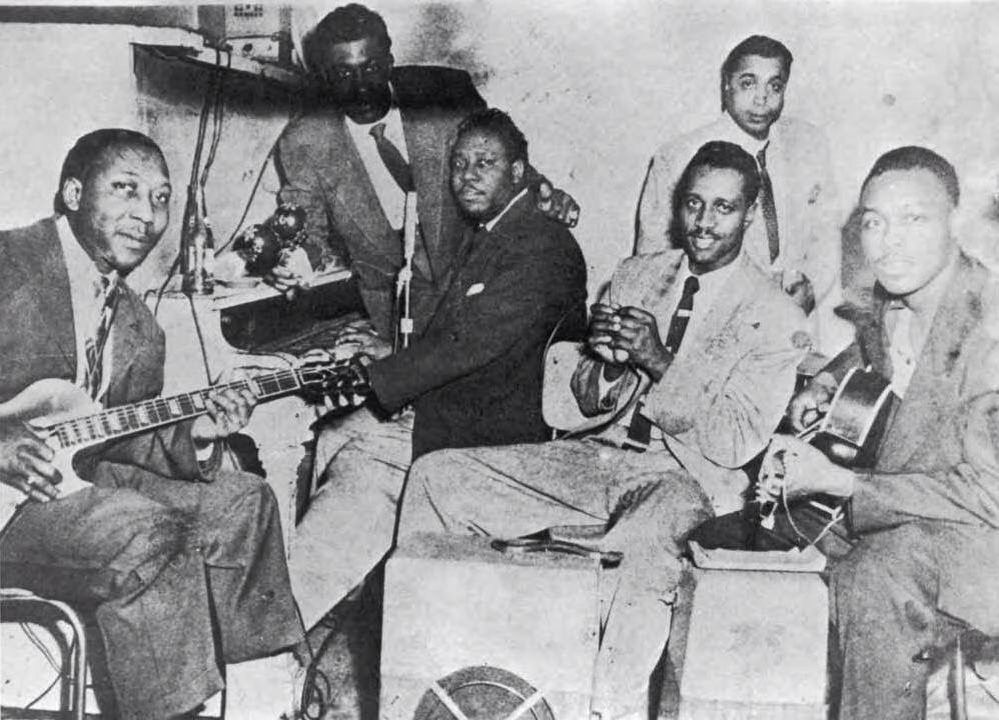 Muddy Waters' famous Chicago Blues band in 1953
