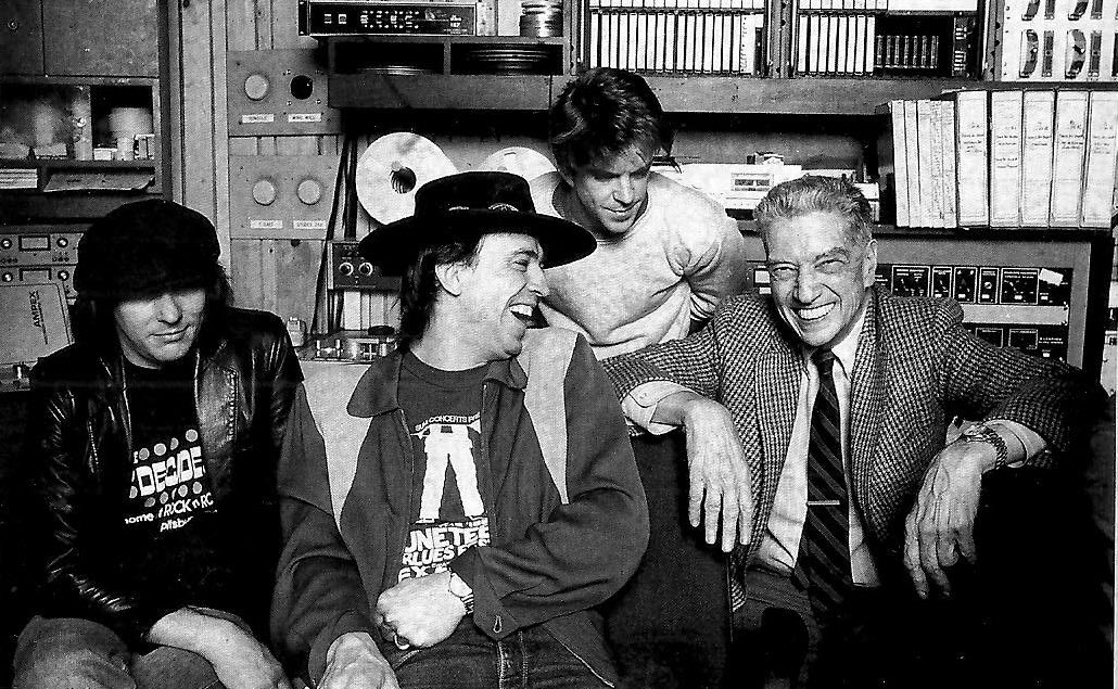 John Hammond Sr. with Stevie Ray Vaughan and Double Trouble