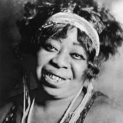 Ma Rainey, one of the first singers of the blues