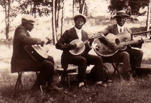 Early group of African musicians in America