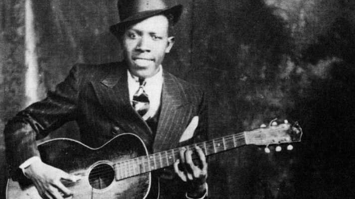 Robert Johnson. His promo photograph