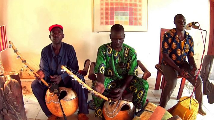 Wassoulou group of musicians from Senegal